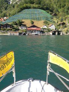 Water taxi on Zürich lake