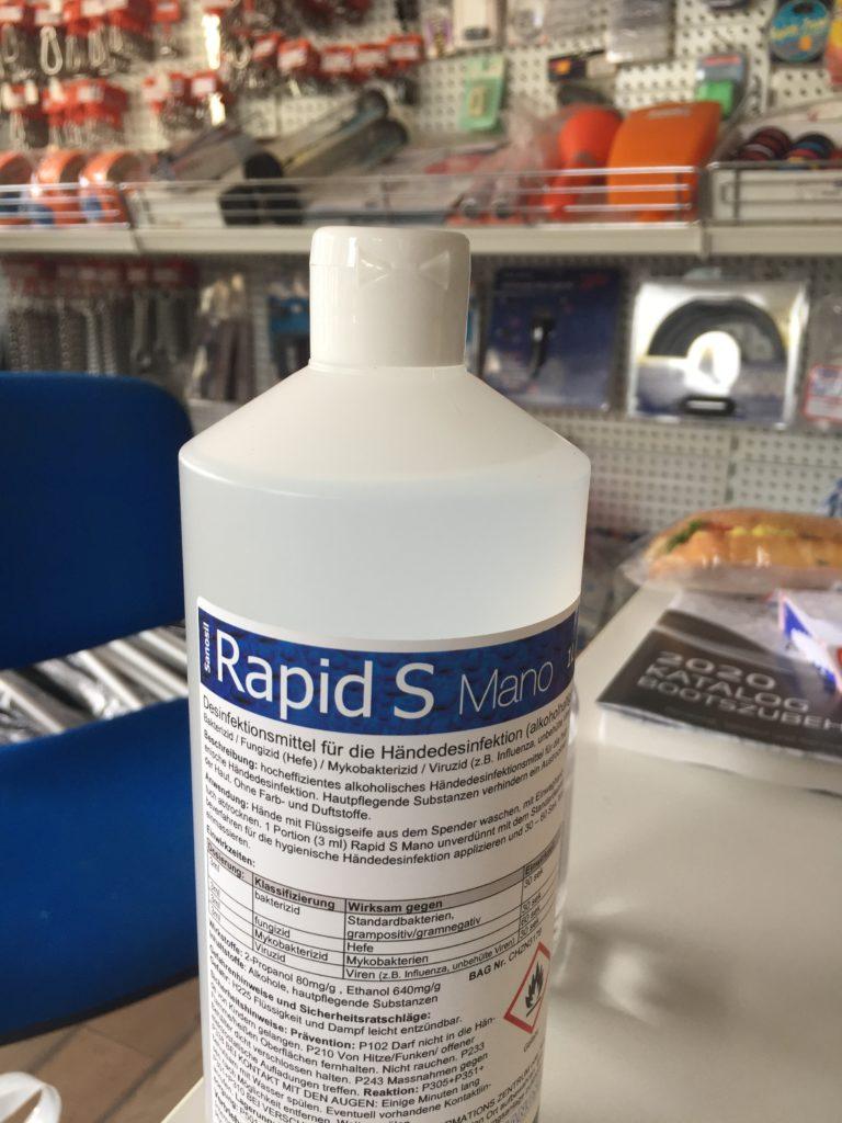 Spezialist im Verkauf von Desinfektionsmittel!