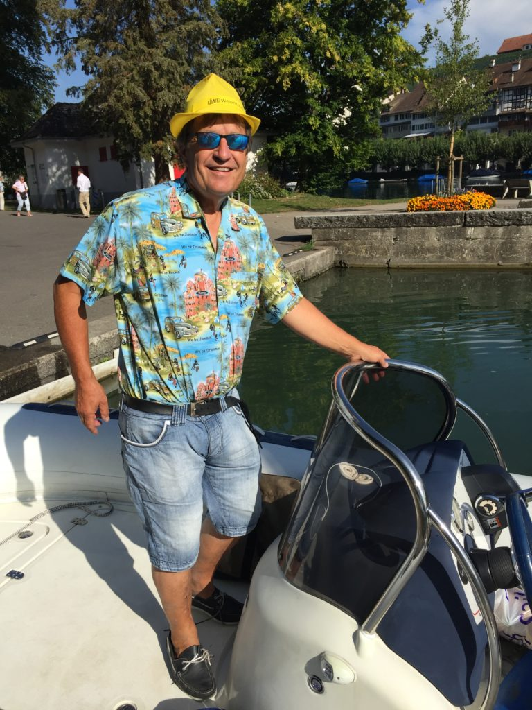 Abenteuer Rheinfall - Rhein Bootsfahrt günstig - Wassertaxi Eglisau Schaffhausen