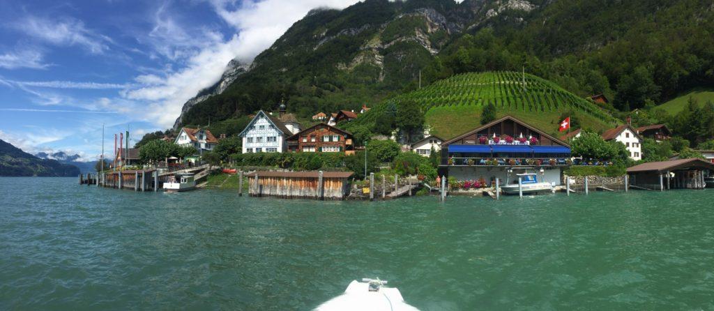 Abenteuer Linthkanal -  Bootsfahrt Walensee zum Zürichsee - Schiffahrt und Wassertaxi Walensee