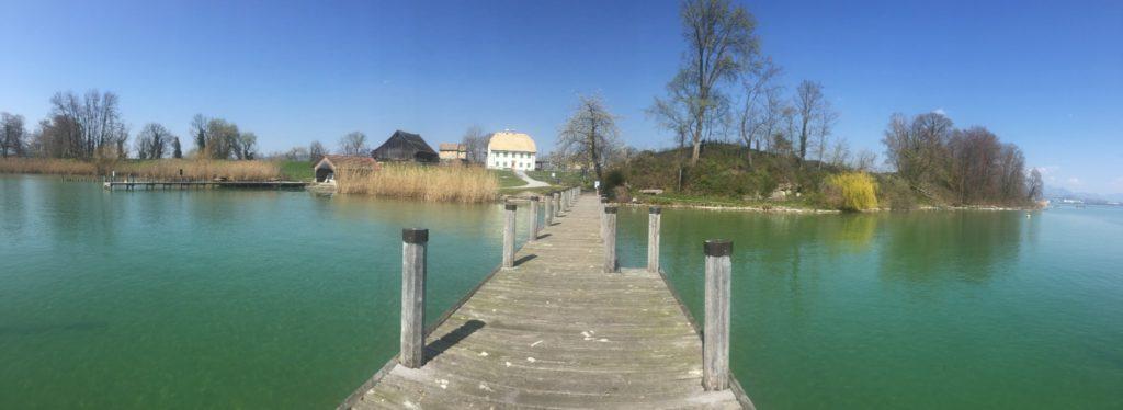 Inselrundfahrt Ufenau Lützelau Rapperswil - Wassertaxi Pfäffikon Rapperswil Lachen - Bootstransfer zu Restaurants